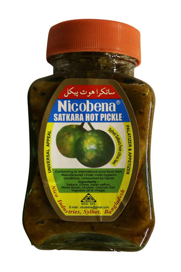 NICOBENA SATHKORA PICKLE