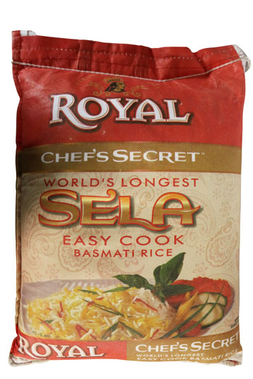 ROYAL CHEFS SECRET SELA BASMATI