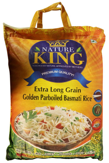 NATURE KING LONG GRAIN PARBOILED BASMATI