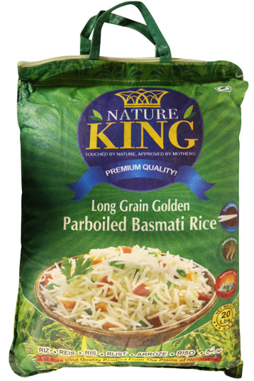 NATURE KING PARBOILED BASMATI